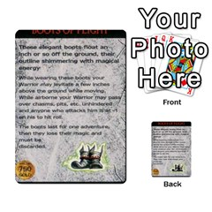 Warhammer Quest 1 By Kieren   Multi Purpose Cards (rectangle)   Zyzykjq2fc21   Www Artscow Com Front 24