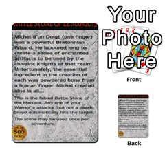 Warhammer Quest 1 By Kieren   Multi Purpose Cards (rectangle)   Zyzykjq2fc21   Www Artscow Com Front 26