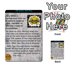 Warhammer Quest 1 By Kieren   Multi Purpose Cards (rectangle)   Zyzykjq2fc21   Www Artscow Com Front 35