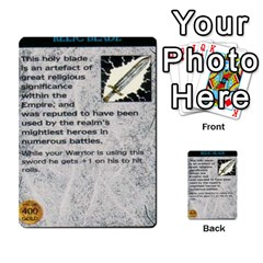 Warhammer Quest 1 By Kieren   Multi Purpose Cards (rectangle)   Zyzykjq2fc21   Www Artscow Com Front 36