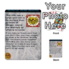 Warhammer Quest 1 By Kieren   Multi Purpose Cards (rectangle)   Zyzykjq2fc21   Www Artscow Com Front 37