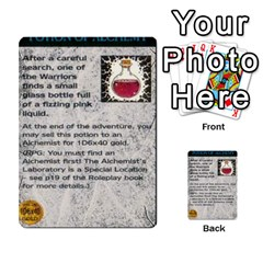 Warhammer Quest 1 By Kieren   Multi Purpose Cards (rectangle)   Zyzykjq2fc21   Www Artscow Com Front 41