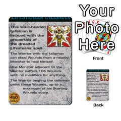 Warhammer Quest 1 By Kieren   Multi Purpose Cards (rectangle)   Zyzykjq2fc21   Www Artscow Com Front 43