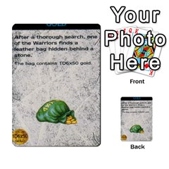 Warhammer Quest 1 By Kieren   Multi Purpose Cards (rectangle)   Zyzykjq2fc21   Www Artscow Com Front 49