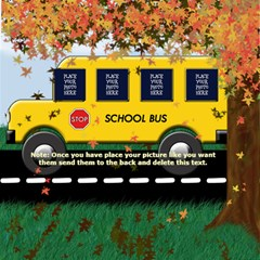 School Bus Scrap Pages 12 X 12 By Chere s Creations   Scrapbook Page 12  X 12    3v9g72ls8417   Www Artscow Com 12 x12 Scrapbook Page - 7