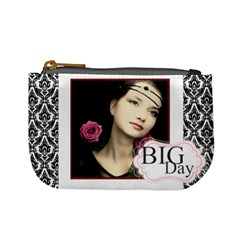 Big Day By Joely   Mini Coin Purse   Ilyusrtu9n7i   Www Artscow Com Front