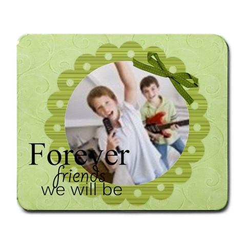 Forever Friends We Will Be By Joely   Large Mousepad   12vyfy63b1eo   Www Artscow Com Front