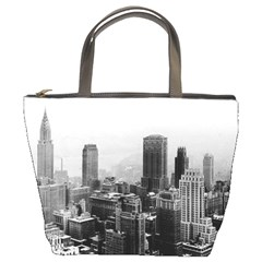 New York 1932  Bucket Bag By Bags n Brellas   Bucket Bag   Hr5vrgrz2oyz   Www Artscow Com Front
