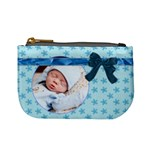 Baby Blue Mini Coin Purse