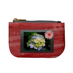 Flower Coins Bag By Clince   Mini Coin Purse   5hc9wl1uqagc   Www Artscow Com Front