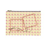 spring cosmetic bag (L) - Cosmetic Bag (Large)