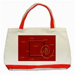 easter tote bag - Classic Tote Bag (Red)