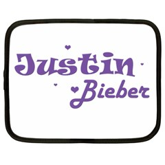 Justin Bieber Netbook Case (Large)	 by tarechastore