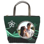 Pretty Green Bucket Bag