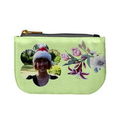 Flower Coin Purse By Deborah   Mini Coin Purse   Sbrnzi0g9fp8   Www Artscow Com Front