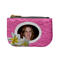 Pretty In Pink Coin Purse By Deborah   Mini Coin Purse   Cd4bzrhuz2qb   Www Artscow Com Front