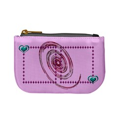 Swirl Coin Purse By Daniela   Mini Coin Purse   Smku8jbd93da   Www Artscow Com Front