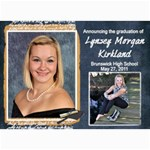 Lynsey s grad announcement/party - 5  x 7  Photo Cards