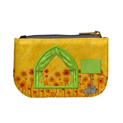 Miss Ladybugs Garden Coin Bag 2 By Lisa Minor   Mini Coin Purse   1rwsp23jpy88   Www Artscow Com Back
