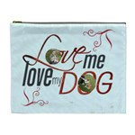 Puppy Love Extra Large Cosmetic Bag - Cosmetic Bag (XL)