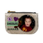 I Love Chocolate Bunnies Mini Coin Purse
