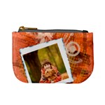Orange coins bag - Mini Coin Purse