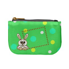 Hunny Bunny Coin Purse By Daniela   Mini Coin Purse   Rh7ijfelisvx   Www Artscow Com Front