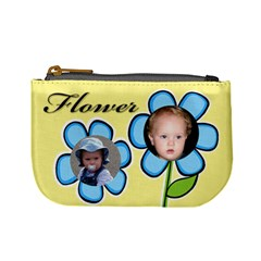 My Flowers Baby Coin Purse By Deborah   Mini Coin Purse   Fcsxoi5hvott   Www Artscow Com Front