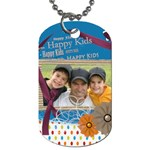 Family tag - Dog Tag (One Side)