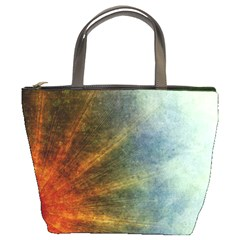 Colored Star Burst2 Bucket Bag By Bags n Brellas   Bucket Bag   23z549q51vyl   Www Artscow Com Front