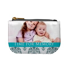 Time For Memory By Wood Johnson   Mini Coin Purse   Otv1vlvxp6e7   Www Artscow Com Front