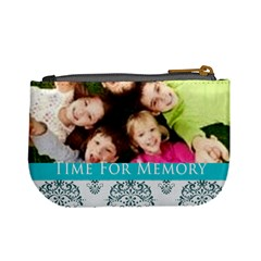Time For Memory By Wood Johnson   Mini Coin Purse   Otv1vlvxp6e7   Www Artscow Com Back