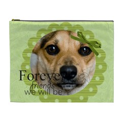 Forever Friends We Will Be By Joely   Cosmetic Bag (xl)   07l93ond9rkm   Www Artscow Com Front