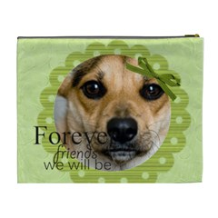 Forever Friends We Will Be By Joely   Cosmetic Bag (xl)   07l93ond9rkm   Www Artscow Com Back