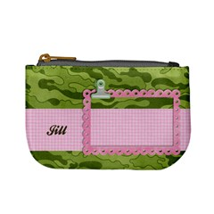 Camo, Girl Mini Coin Purse Template By Mikki   Mini Coin Purse   1tgh1bs0qr7h   Www Artscow Com Front