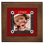 Loved Framed Tile