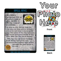Warhammer Quest 2 By Kieren   Multi Purpose Cards (rectangle)   L3an5b4sp9nt   Www Artscow Com Front 52