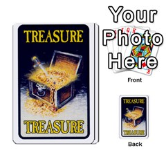 Warhammer Quest 2 By Kieren   Multi Purpose Cards (rectangle)   L3an5b4sp9nt   Www Artscow Com Back 9