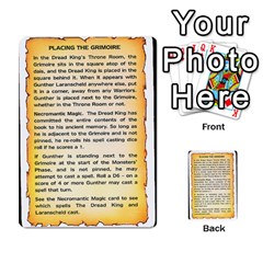 Warhammer Quest 2 By Kieren   Multi Purpose Cards (rectangle)   L3an5b4sp9nt   Www Artscow Com Back 14
