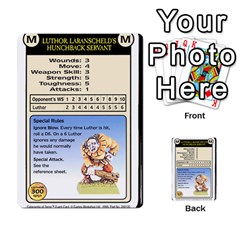 Warhammer Quest 2 By Kieren   Multi Purpose Cards (rectangle)   L3an5b4sp9nt   Www Artscow Com Front 19