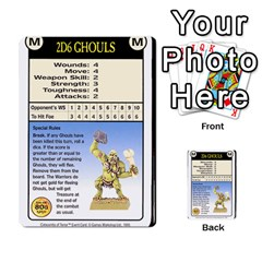 Warhammer Quest 2 By Kieren   Multi Purpose Cards (rectangle)   L3an5b4sp9nt   Www Artscow Com Front 20