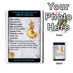 Warhammer Quest 2 By Kieren   Multi Purpose Cards (rectangle)   L3an5b4sp9nt   Www Artscow Com Front 3