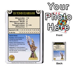 Warhammer Quest 2 By Kieren   Multi Purpose Cards (rectangle)   L3an5b4sp9nt   Www Artscow Com Front 22