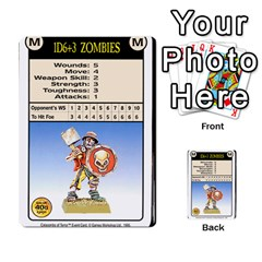 Warhammer Quest 2 By Kieren   Multi Purpose Cards (rectangle)   L3an5b4sp9nt   Www Artscow Com Front 23