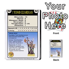 Warhammer Quest 2 By Kieren   Multi Purpose Cards (rectangle)   L3an5b4sp9nt   Www Artscow Com Front 24