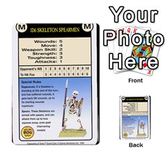 Warhammer Quest 2 By Kieren   Multi Purpose Cards (rectangle)   L3an5b4sp9nt   Www Artscow Com Front 25