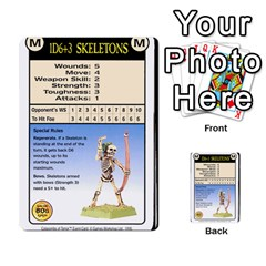 Warhammer Quest 2 By Kieren   Multi Purpose Cards (rectangle)   L3an5b4sp9nt   Www Artscow Com Front 29