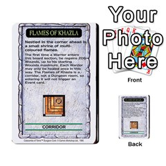 Warhammer Quest 2 By Kieren   Multi Purpose Cards (rectangle)   L3an5b4sp9nt   Www Artscow Com Front 31