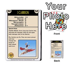 Warhammer Quest 2 By Kieren   Multi Purpose Cards (rectangle)   L3an5b4sp9nt   Www Artscow Com Front 32