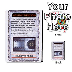 Warhammer Quest 2 By Kieren   Multi Purpose Cards (rectangle)   L3an5b4sp9nt   Www Artscow Com Front 35